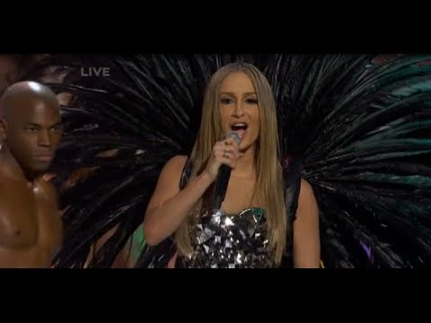 Claudia Leitte no Miss Universo - HD performance (Locomotion Batucada)