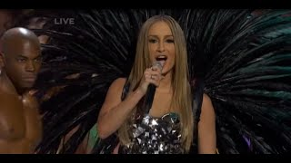 Claudia Leitte no Miss Universo - HD performance (Locomotion Batucada)