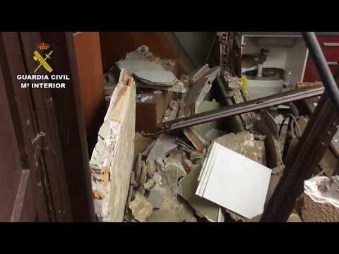 Detenidos los tres heridos en la explosión de la vivienda de Nalda