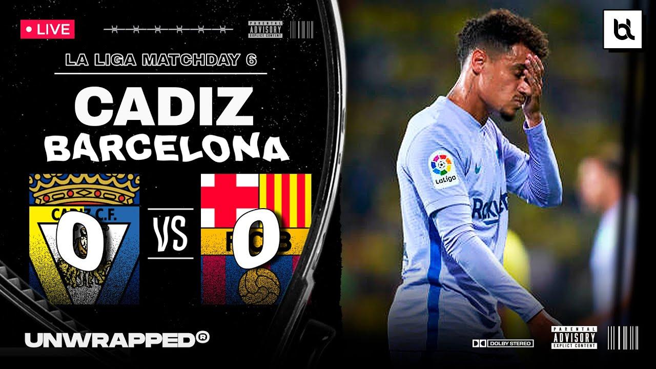 Cdiz vs. Barcelona - Football Match Report - September 23, 2021 ...