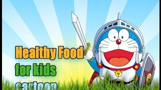 healthy food for kids cartoon