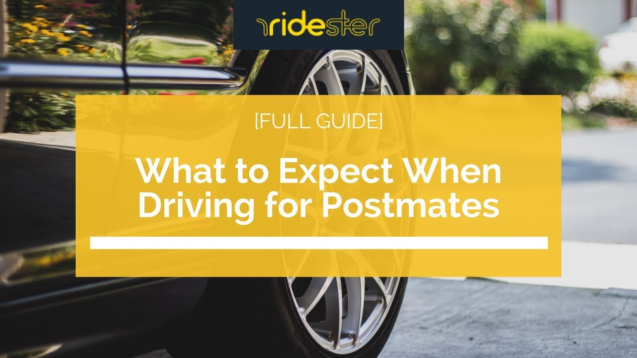 Current Postmates Referral Codes for Drivers [Updated