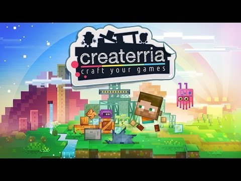 Createrria - Craft your Games - Universal - HD Gameplay Trailer