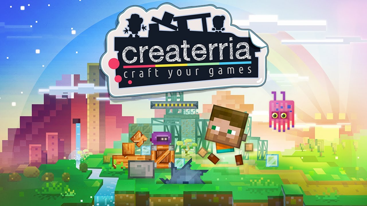 Craft Game For Pc : Createrria craft your games universal hd gameplay