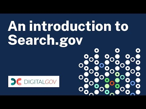 An Introduction to Search.gov