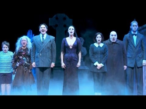 Watch THE ADDAMS FAMILY Musical Star's Character Transformation!