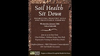 Soil Health Sit Down   January 20, 2021