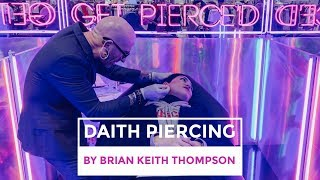 Most Beautiful Daith Piercing by Brian Keith Thompson