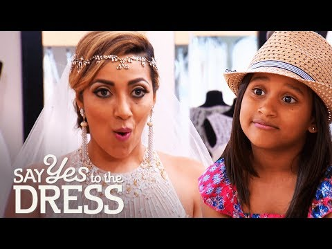 Bride's Demanding Daughter Wants to Pick the Dress | Say Yes To The Dress Atlanta. http://bit.ly/2JHxj9e
