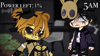 William tries to survive Five Nights at Freddy's 1