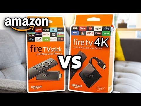 $70 Amazon Fire TV 4K vs Fire STICK - Worth the Upgrade?!
