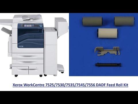 Xerox WC7525/7530/7535/7545/7556 DADF Feed Roll Kit