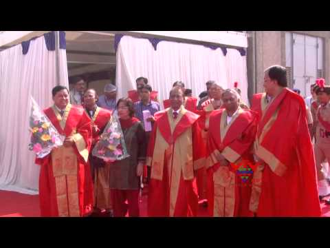 Third annual convocation of the Gujarat Technological University (GTU)