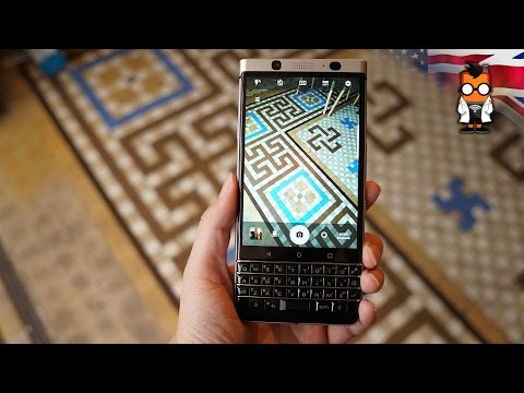 BlackBerry KEYOne Hands On