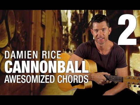 Cannonball Guitar Lesson Part 2 Awesomized Chords Youtube