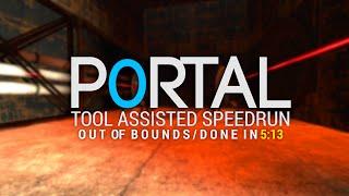 Portal TAS in 5:13