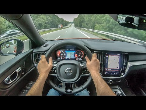 Volvo S60 III | 4K POV Test Drive #275 Joe Black
