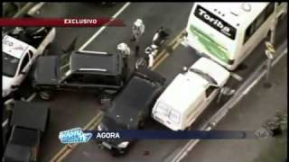 Perseguição Policial ao Vivo Brasil Urgente