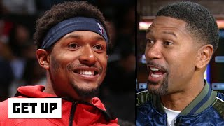 The Wizards made an amazing move by giving Bradley Beal a max contract - Jalen Rose | Get Up