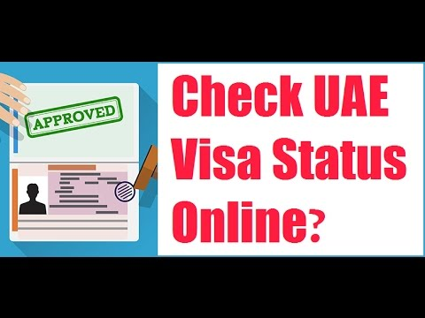 How To Check UAE Visa Status Online 2019?