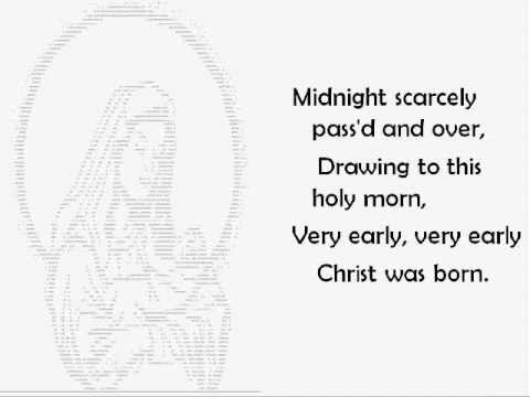 Christ Was Born on Christmas Day - Christmas Carol with Lyrics