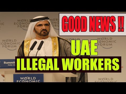 GOOD NEWS!!The government of UAE increased the time for illegal expatriates !! Details