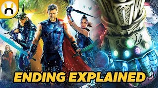 Thor Ragnarok Ending Explained - What it means for Infinity War & Thor's Future