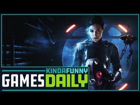 Star Wars' Janina Gavankar Hosts  Kinda Funny Games Daily 11.03.17