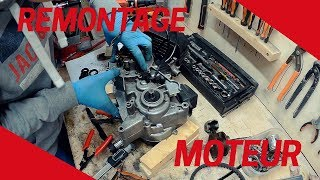 Ma moto a enfin un moteur ! - Restauration DT50MX (Partie 2)