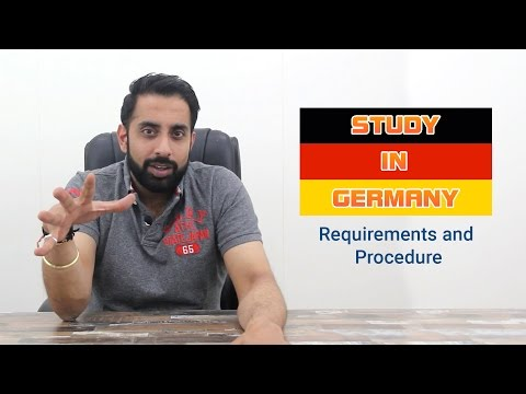 Study in Germany - Requirements and Procedure