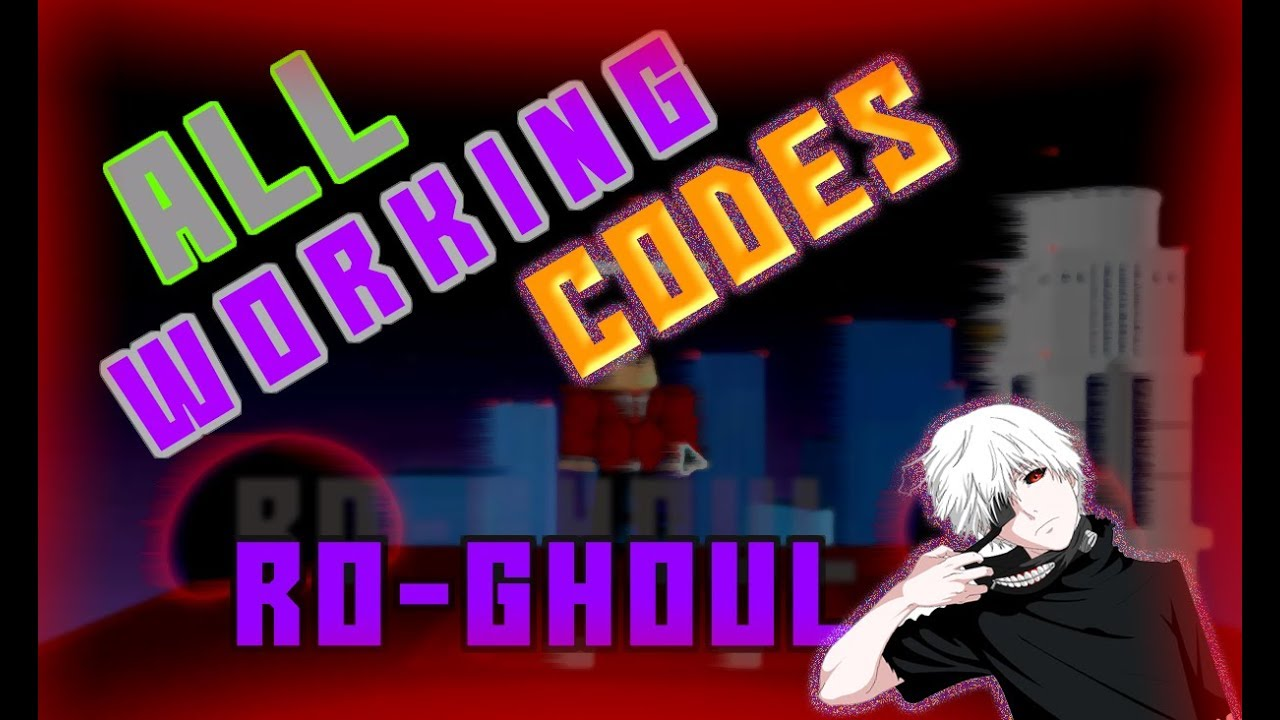 ALL WORKING CODES 2019 *that are still redeem in ro-ghoul | RO-GHOUL  (ROBLOX)