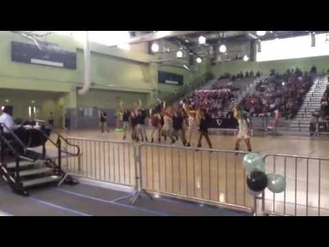 Olive Vista Middle School Dance Team 2015