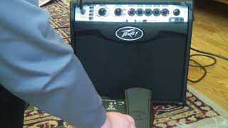 Sanpera I pedal and Peavey Vypyr VIP 1