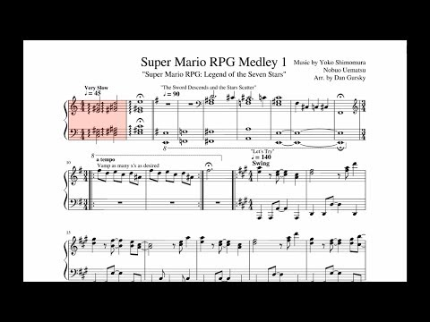 Super Mario RPG Medley 1 Violin cover