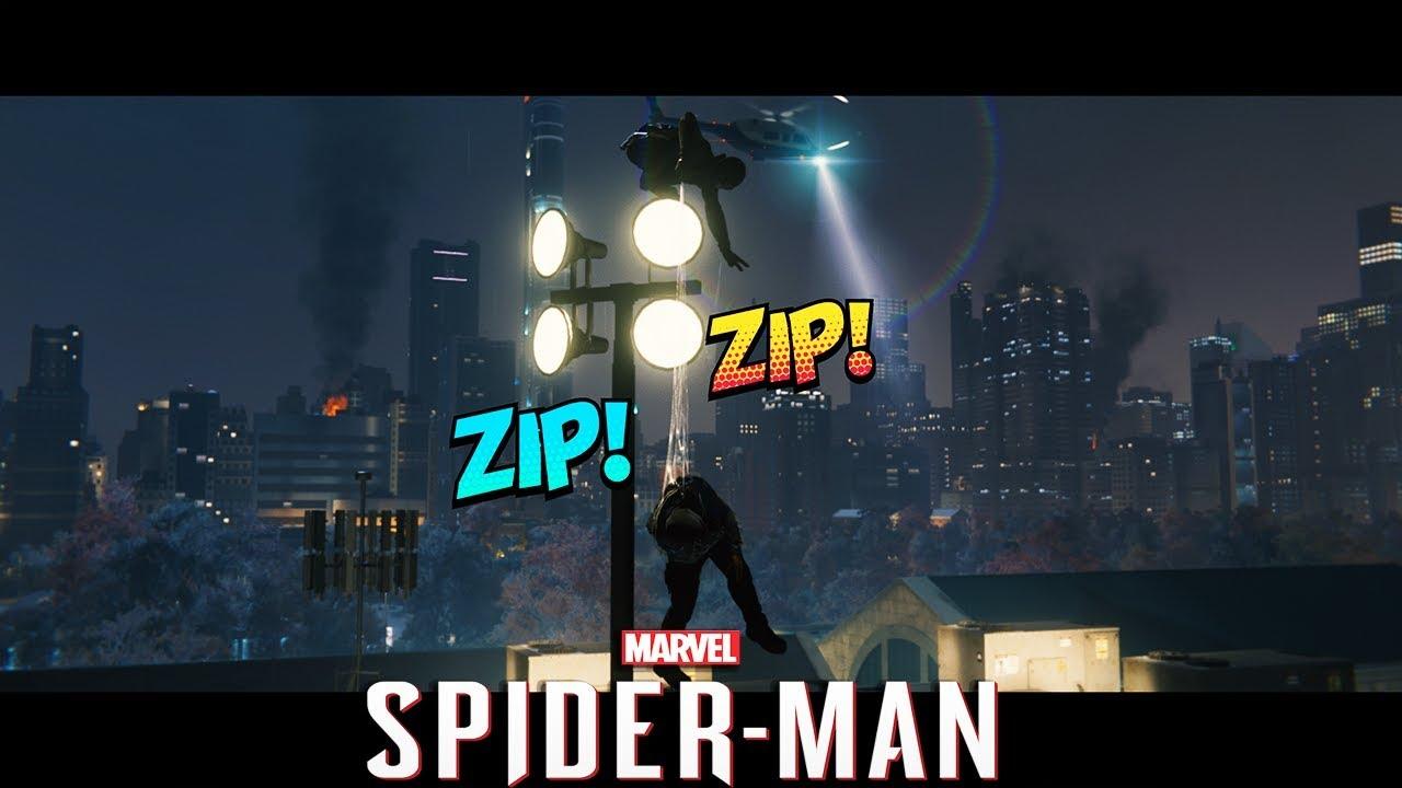 Marvels Spider Man Stealth Challenge Upper West Side Ultimate
