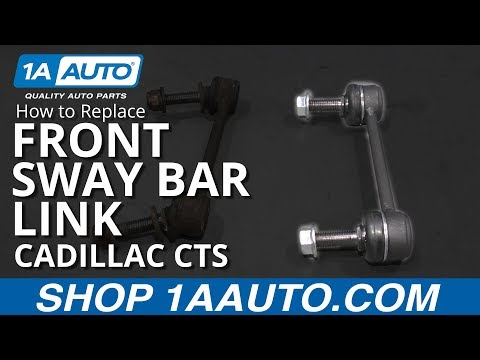 How to Replace Front Sway Bar Link 08-14 Cadillac CTS