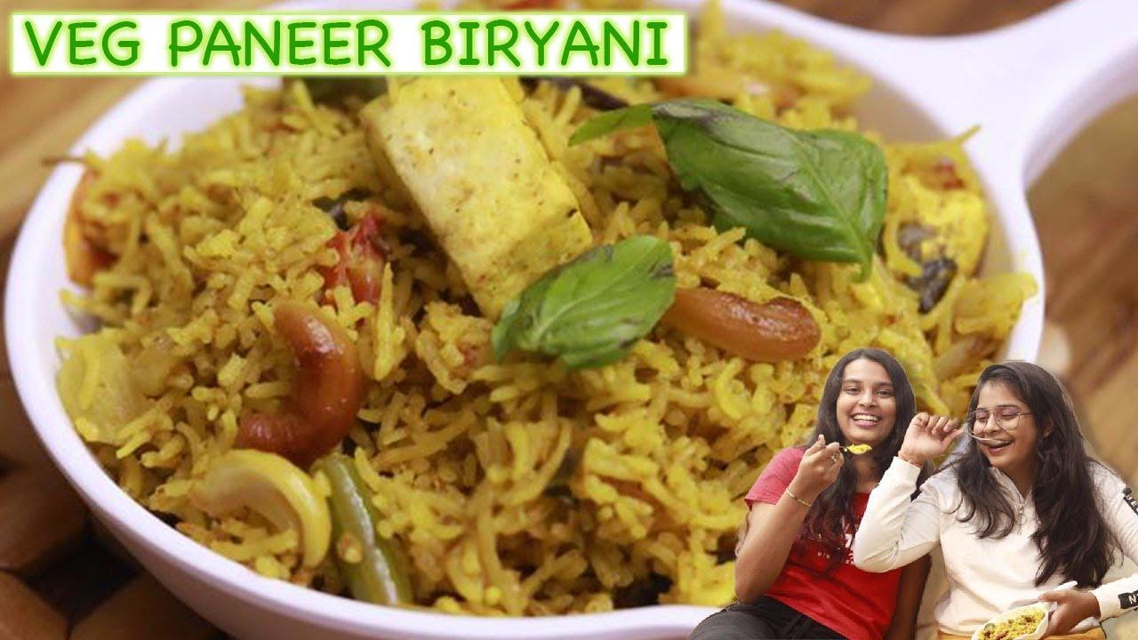 Easy Paneer Biryani In Cooker l Paneer Recipe | Veg Biryani l Cook With Asha