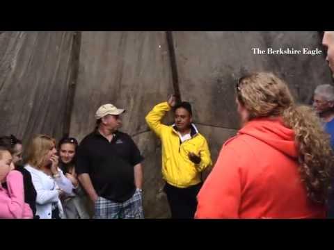 Fidel Moreno talks about Mahican culture at Bascom Lodge season opening #Berkshires