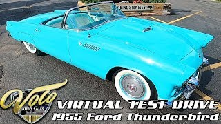 1955 Ford Thunderbird Virtual Test Drive at Volo Auto Museum (V18928)