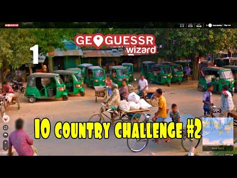 Geoguessr - 10 country challenge #2 - Best Russia guess ever?