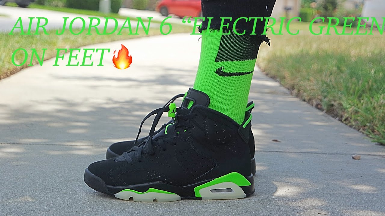 Air Jordan 6 Retro GS 'Electric Green'