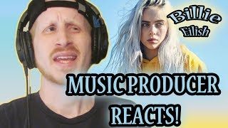 Music Producer Reacts to Billie Eilish - You Should See Me In a Crown (First Time Listening!!!) Video