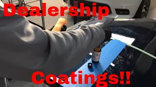Dealership Coatings! What Are They? Are They Worth It....Or Garbage?