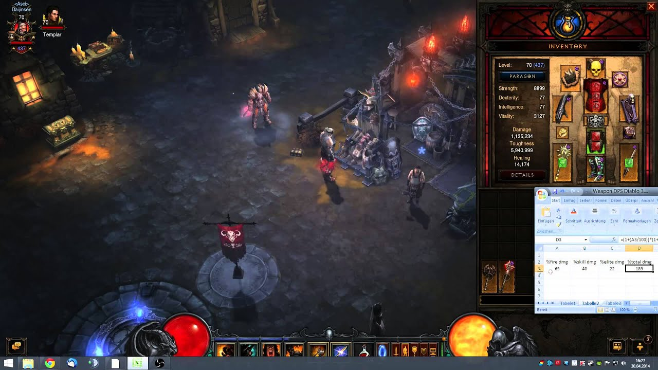 Diablo  Ancient Spear Build