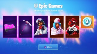 The NEW VALENTINES SKINS in Fortnite... (FREE REWARDS)