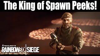 Kaid: The King of all Spawn Peeks! - Rainbow Six Siege
