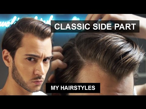 Short Hair Classic Side Part | Men's Hair | My Hairstyles | Ruben Ramos