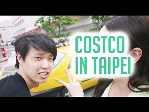 TAIWAN TRAVEL VLOG: Shopping at Costco