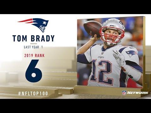 #6: Tom Brady (QB, Patriots)   Top 100 Players of 2019   NFL
