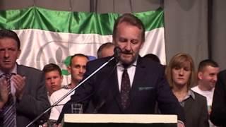 Govor Bakir Izetbegović, predizborni skup SDA Lukavac 05.10.2014